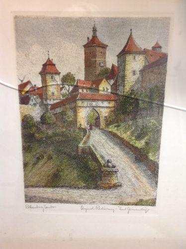 Das Rödertor by Ernst Geissendorfer